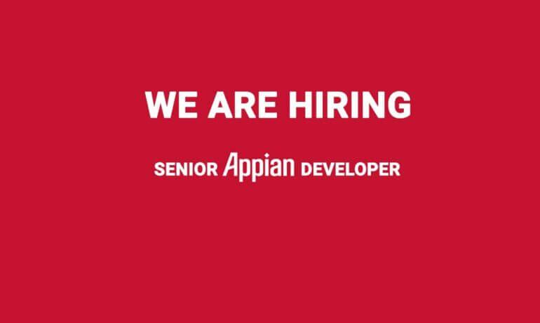 hiring sr appian developer